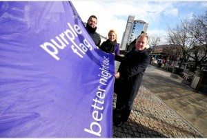 Purple Flag Photo