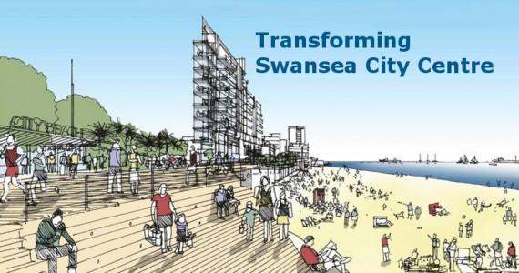 Swansea City Centre The Premier Waterfront City Centre