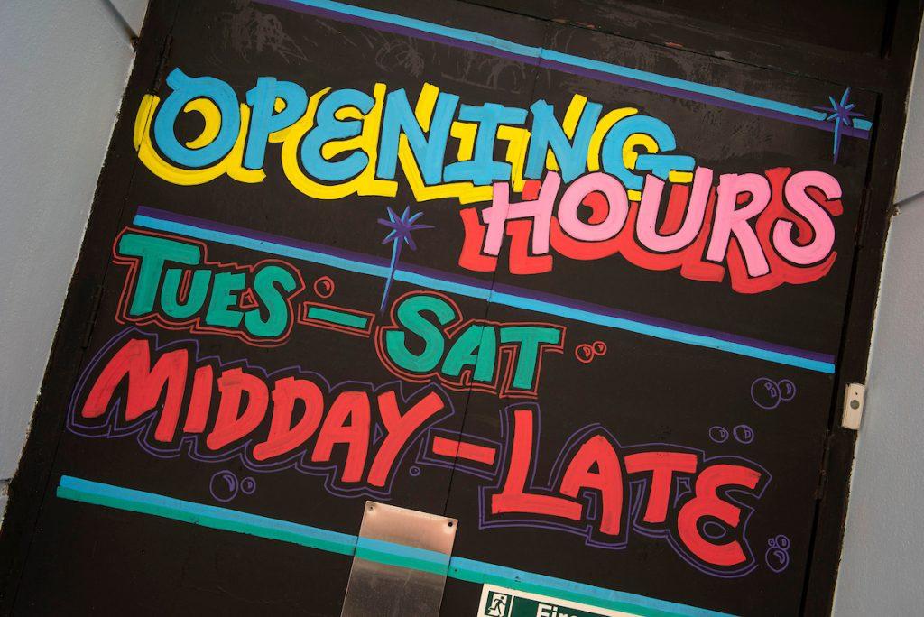Elysium Bar - opening hours