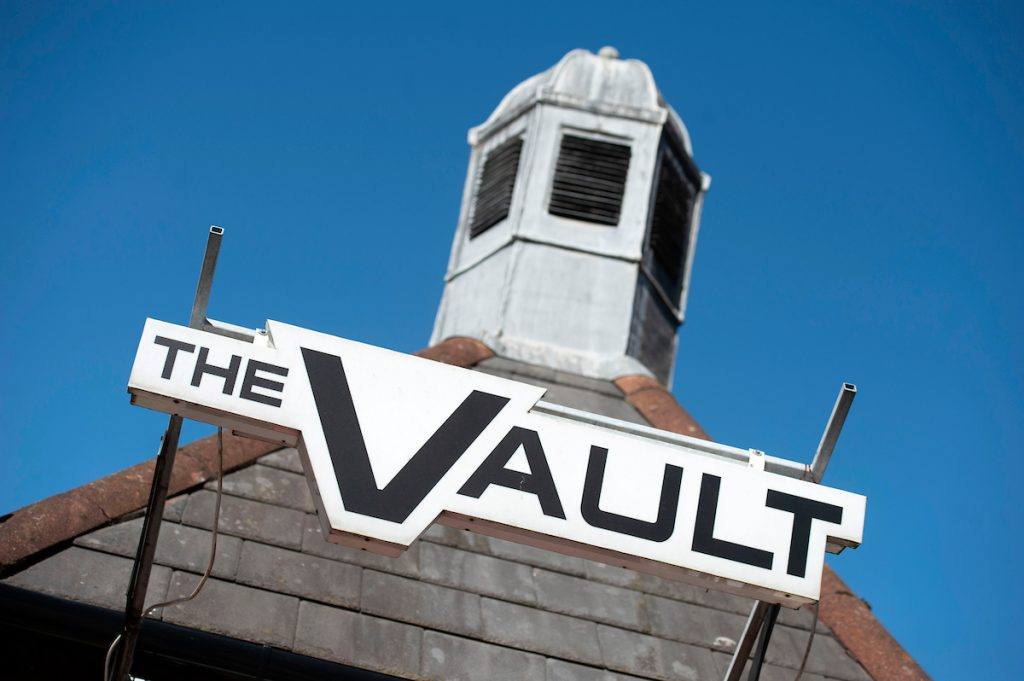 The Vault - signage