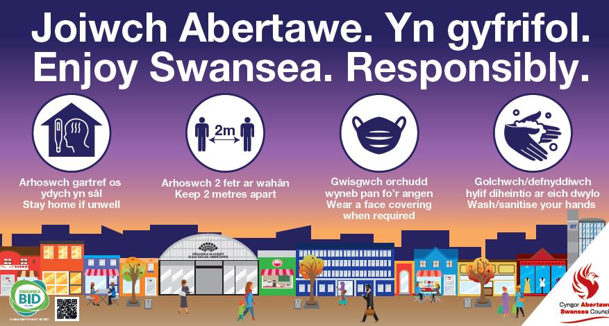 Covid 19 Updates Swansea City Centre